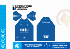 Uniforme do Cruzeiro Titular / 2019