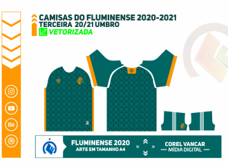 Camisas do fluminense 2020-2021 - UMBRO