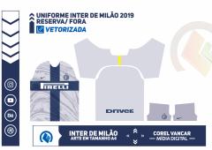Uniforme Inter de Milão 2018-2019 - RESERVA - FORA