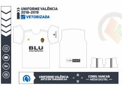 Uniforme Valência 2018-2019