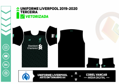 Uniforme Liverpool 2019-2020 -TERCEIRA