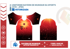 Uniforme Bayern de Munique 2018-2019 - EA Sports