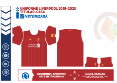 Uniforme Liverpool 2019-2020 -TITULAR