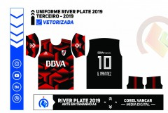 Uniforme River Plate 2019