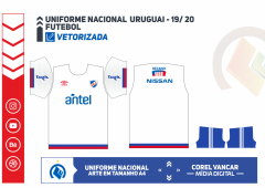 Uniforme Nacional do Uruguai - 2019-2020