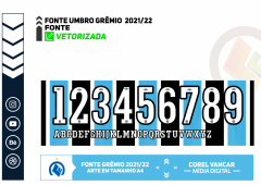FONTE UMBRO GRÊMIO TITULAR 2021