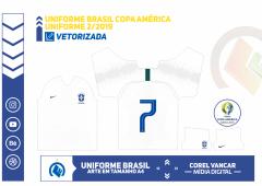 UNIFORME BRASIL COPA AMÉRICA 2019 - 2