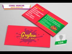 Cartão de Visita - Gráfica