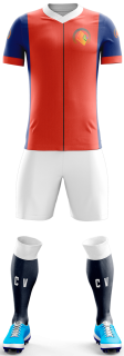 Camisa para Futebol Modelo Barcelona