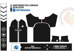 Uniforme PSG  2018-2019 - 3
