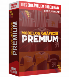 KIT PREMIUM ESPORTIVO - CAMISAS DE FUTEBOL E FUTSAL