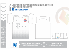 Uniforme Bayern de Munique -2019-20