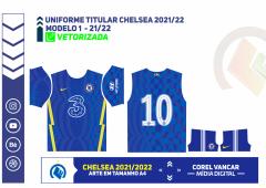 Camisa do Chelsea FC 2021-2022