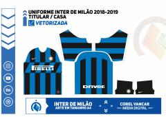 Uniforme Inter de Milão 2019-2020