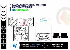 CAMISA TITULAR CORINTHIANS - 2021-2022