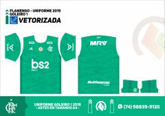 UNIFORME FLAMENGO 2019 - GOLEIRO 1