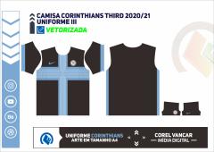 CAMISA CORINTHIANS THIRD 2020-21