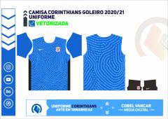 CAMISA CORINTHIANS GOLEIRO 2020-21