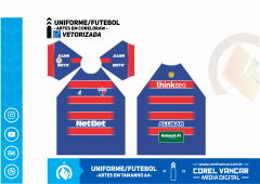 Uniforme do Fortaleza Titular / 2019