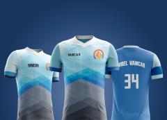Camisa Futebol - Manga Raglã