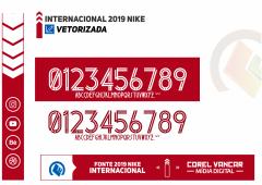Fonte Internacional Nike 2019 em CorelDRAW e para Instalar