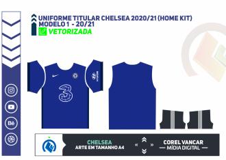 Uniforme titular Chelsea 2020-21 (Home Kit)