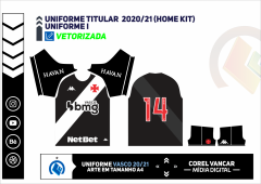 Uniforme Titular  2020-21 (Home kit)