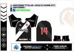 Uniforme Titular  2020-21 (Home kit)