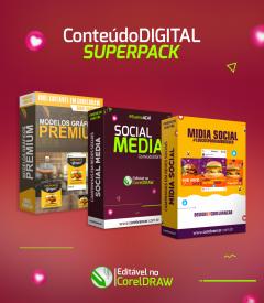 PACK 3 EM 1 SOCIAL MEDIA (para campanhas em redes sociais e impressão)