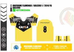 FLAMENGO 2014.2015 - GOLEIRO 1