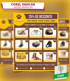 Modelo  para Pet Shop -  Flyer