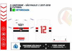 SÃO PAULO 2017.2018 - UNIFORME 1