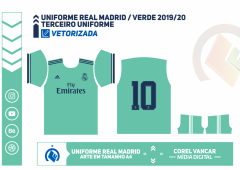 Uniforme Real Madrid - Verde 2019-20