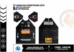 Uniforme Corinthians - Reserva 2019