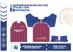 Uniforme Barcelona 2018-2019