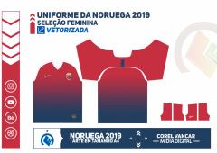 Uniforme da Seleção Feminina da Noruega 2019