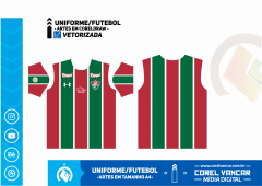 Uniforme do Fluminense Titular / 2019