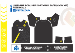 Uniforme  Borussia Dortmund  2020-21 (Away kit)