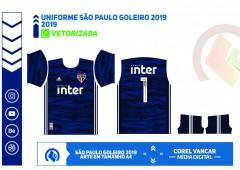 Uniforme São Paulo Goleiro 2019