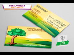 Cartão de Visita - Agricultura, Agricultor