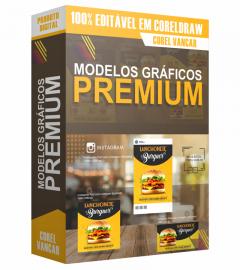Modelos Gráficos PREMIUM para branding, impressos, mídia social, e promoções