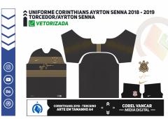 Uniforme Corinthians Ayrton Senna 2018 - 2019