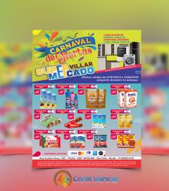 Panfleto – Carnaval de Ofertas (21x30cm-Vertical, 4x0 (Colorido Frente)
