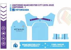 Uniforme Manchester City 2019-2020