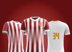 Camisa Esportivo Futebol  - Modelo Atlético de Madrid