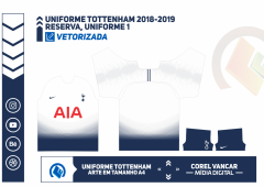 Uniforme Tottenham 2018-2019