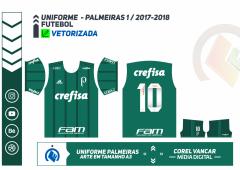 PALMEIRAS 2017.2018 - UNIFORME 1