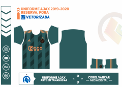 Uniforme Ajax 2019 - 2020