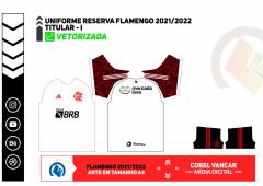 UNIFORME FLAMENGO 2021-2022 RESERVA