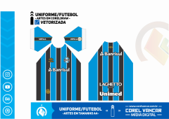 Uniforme do Grêmio Titular / 2019